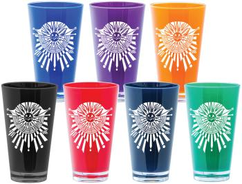 1555 - ACRYLIC PINT GLASSES