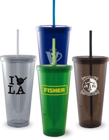 3345 - 24 oz. Grande Tumbler with Straw