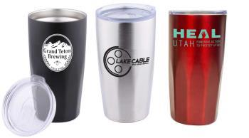 4026 - 20 oz. Zeus DW Tumbler with Bevel