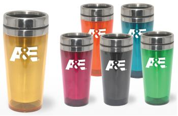 9518 - 16 oz. Tumbler-Stainless Liner & Lid